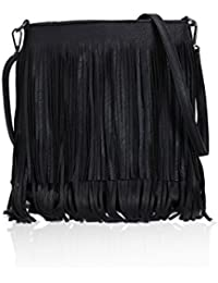 bc747f27c6 Gessy London Tassel Cross Body Messenger Bags with Adjustable Long Strap in  Varuious Colours for Ladies…