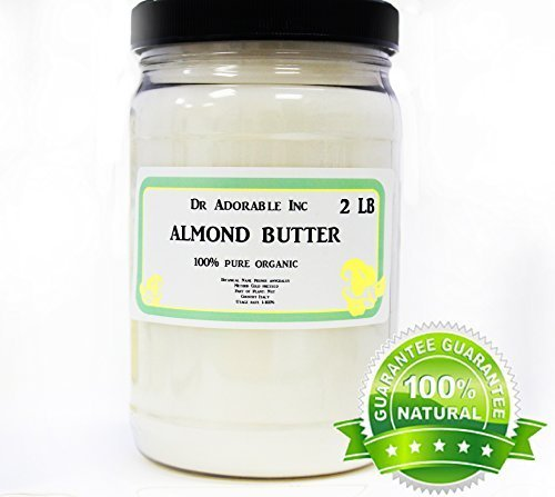 Almond Butter Pure Organic 32 Oz/2 lb