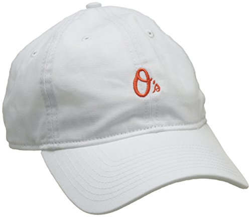 New Era Herren 940 Baltimore Orioles Offical Team Baseball-Cap, Weiß, One Size (Baltimore Orioles Cap)