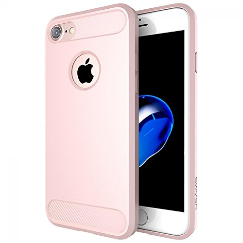 ECENCE Apple iPhone 7 / 8 SOFT-FLEX TPU CASE HANDYHÜLLE SCHUTZHÜLLE COVER Pink 14040509 Pink
