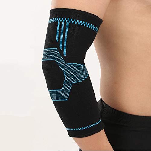 Spfree Ellenbogenbandage Armstulpe Sport-Armschoner Ellenbogenschutz für Basketball Handball Volleyball Fußball