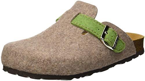 Grunland sara, scarpe da spiaggia e piscina donna, (taupe-verde tpve), 40 eu