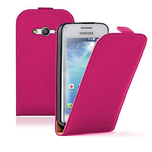Membrane - Rosa Custodia Compatibile con Samsung Galaxy Ace 4 (SM-G357 / G357FZ)