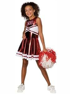 cheerleader High School Musical™ costume for girls - 7 to 8 years/ Medium
