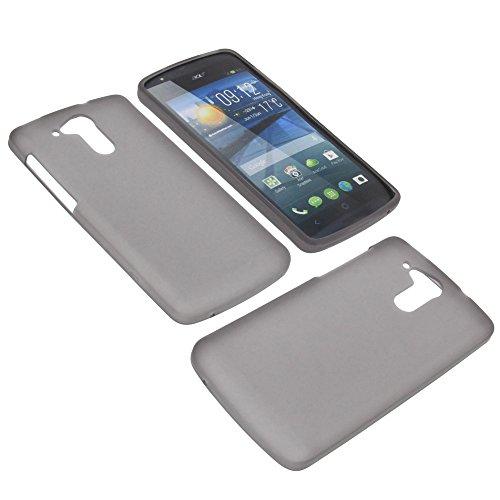 foto-kontor Custodia per cellulari Acer Liquid E700 Liquid E700 Trio in gomma TPU di colore grigio