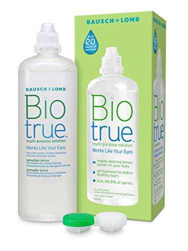 Biotrue Mehrzweck-Kontaktlinsenlösung 300ml - 6