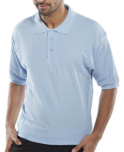 Click Polo Shirt, himmelblau, xs