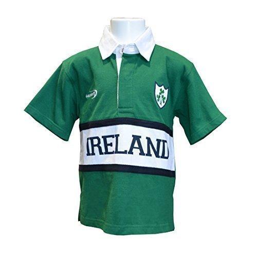 Irland Rugby Shirt Kindergrössen - Grün, 9-10 Years (Die Irische Rugby-irland)