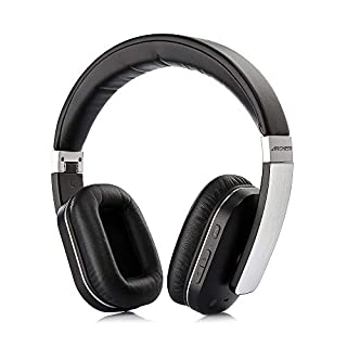 Bluetooth Headphones, Wireless Foldable Over-Ear Hi-Fi Stereo Headset With Microphone, Comfortable Earpads, AptX Stereo Sound Hands-Free Calling Headset for Travel Work TV Computer Smartphones