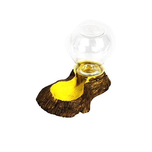 Reptile Futternapf Trinkschale Futter Wasser Harz Geschirr Pet Vivarium Schildkröte Gecko # 15