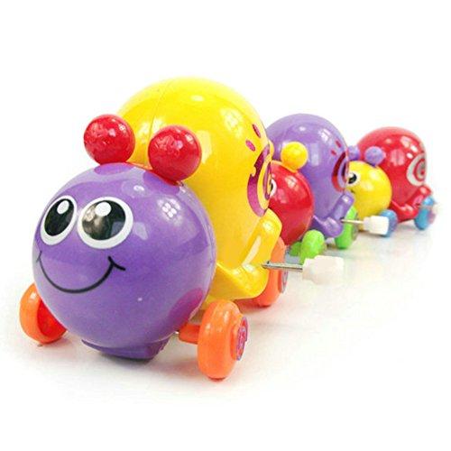 MAJGLGE Maggl Niedliches Cartoon-Spielzeug mit Schnecke, zum Aufziehen, für Neugeborene, Kinder, Frühlingsspielzeug, zufällige Farbe