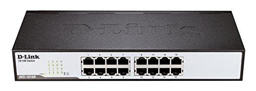 D-Link DES-1016D Fast Ethernet Switch (16 Ports) Kunststoff