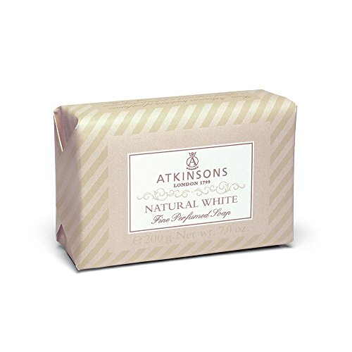 I coloniali sapone natural white di Atkinsons, Sapone Unisex - Saponetta 200 ml.