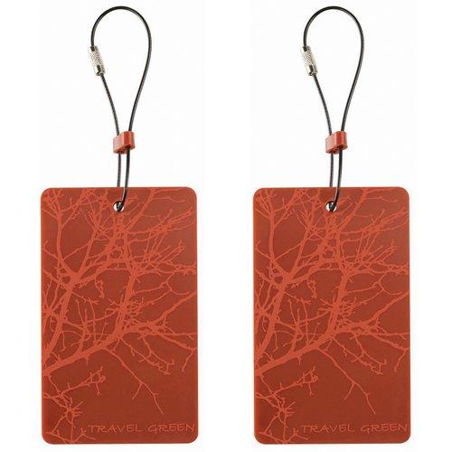 lewis-n-clark-etiqueta-para-equipaje-mujer-naranja-talla-unica