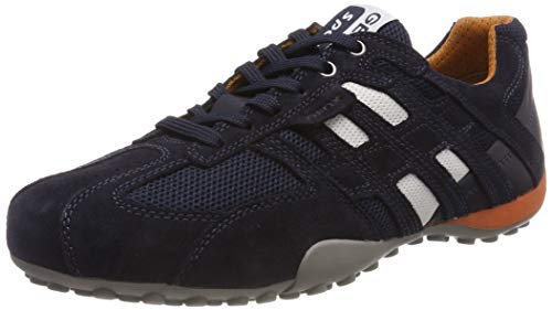 Geox Herren Uomo Snake K Sneaker, Blau (Navy C4002), 42 EU
