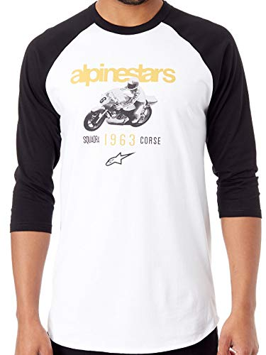 Alpinestars Roller Longsleeve Weiß/Schwarz XL (Alpinestars Sleeve Shirt Long)