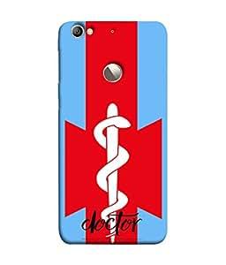 PrintVisa Designer Back Case Cover for LeEco Le 1s :: LeEco Le 1s Eco :: LeTV 1S (Sober professional elegant Sophisticated red blue white )