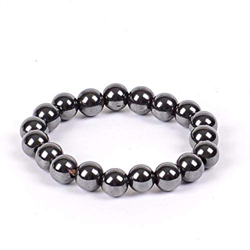 6/8/10 Coole Magnetische Armband Perlen Hämatit Steintherapie Gesundheitswesen Magnet Hämatit Perlen Armband Männer Schmuck ()