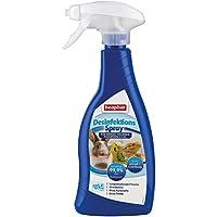 Desinfektionsspray   Beseitigt 99,9 % der Bakterien   Streifenfreies Desinfektionsmittel   Für Umgebung von Nagern & Vögeln, z.B. Volieren   500 ml