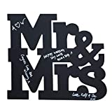 Vintage Hochzeit | Mr & Mrs Kreidetafel Gästebuch