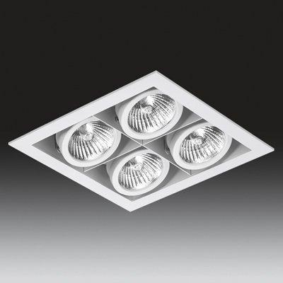ONOK - Cardan Mini 4. Válido para Halogena o Led, color Blanco