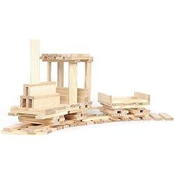 Kapla Boîte 100 Jeu de construction en bois Original Planchettes