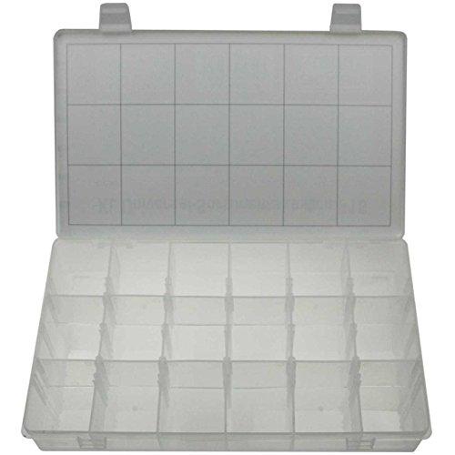 Leere Werkzeug (XL Universal leere Kassette Sortimentsbox Sortimentskasten Sortimentskoffer Sortierkasten Aufbewahrungsbox für KLEINTEILE mit 18 Fächer STABIL)