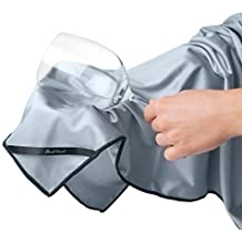 Final Touch Glassware Cleaning Cloths Large Microfibre Ideal for Decanters Wine Glasses FTA7020 by Final Touch