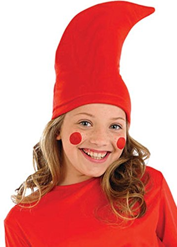 5a187567c2f Childrens Size Red Garden Gnome Hat
