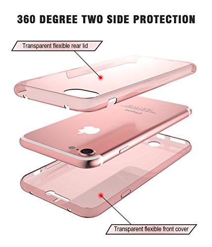 new concept 61e2f c41eb *CASECART* 360 Degree Front and Back Protective *360 DEGREE FULL BODY  PROTECTION* Silicone Screen Protector Crystal Two Sides Soft TPU Full Body  Cover ...