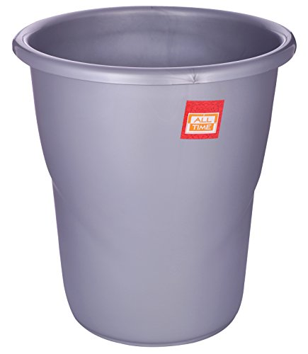 All Time Frosty Plastic Dust Bin, 5.5 Litres