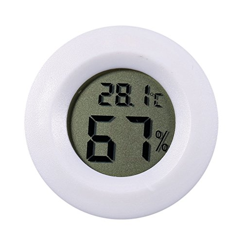 Preisvergleich Produktbild Everpert Mini LCD Digital Thermometer Hygrometer Kühlschrank Gefrierschrank Tester Temperatur