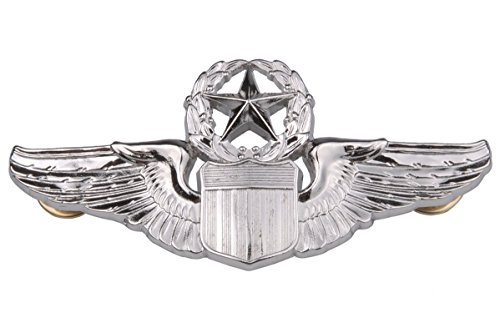 generic-usaf-us-air-force-military-command-pilot-metal-wings-badge-pin-color-silver