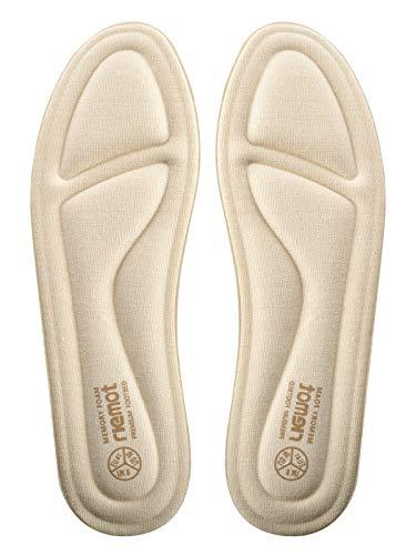 Riemot Plantillas Memory Foam para Zapatos de Hombre y Mujer, Plantillas para Zapatillas Botas, Cómodas...