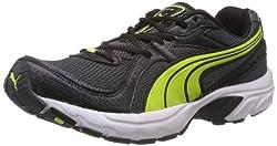 Puma Mens Kuris II Black Mesh Sport Running Shoes - 6 UK/India (39 EU)