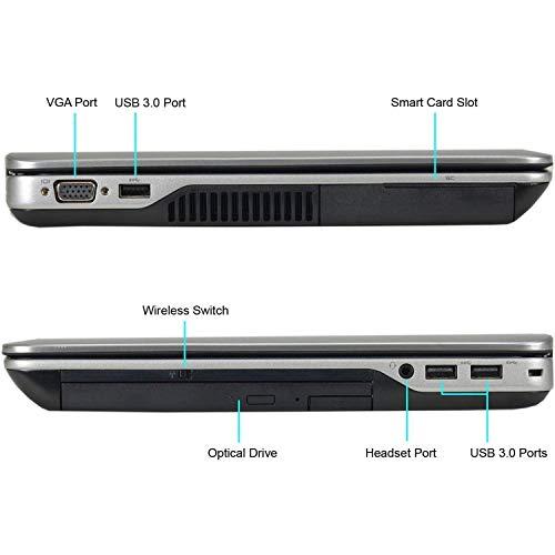 (Renewed) Dell Latitude E6440 14 Inch Laptop (core i7 4610M/8GB/256GB SSD/Windows 10 Pro/MS Office Pro 2019/Built-in graphics), Metalic Grey Image 3