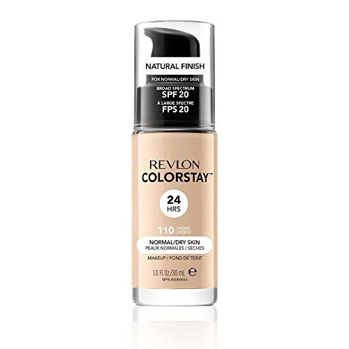 Revlon ColorStay Makeup for Normal/Dry Skin Ivory 110, 1er Pack (1 x 30 g) (Colorstay Revlon Light)