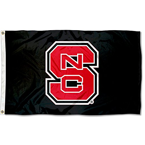 nners Co. North Carolina State Wolfpack Blackout Flagge ()