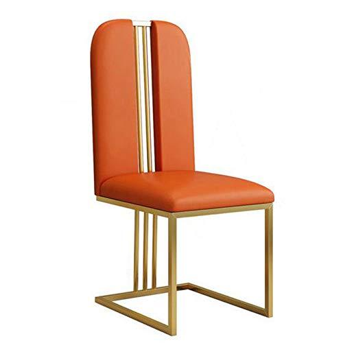 L.BAN Kunstleder Essstühle Küche Restaurant Modern Stuhl mit hoher Rückenlehne zum Büro Konferenzraum Zuhause Möbel (Möbel Konferenzraum)