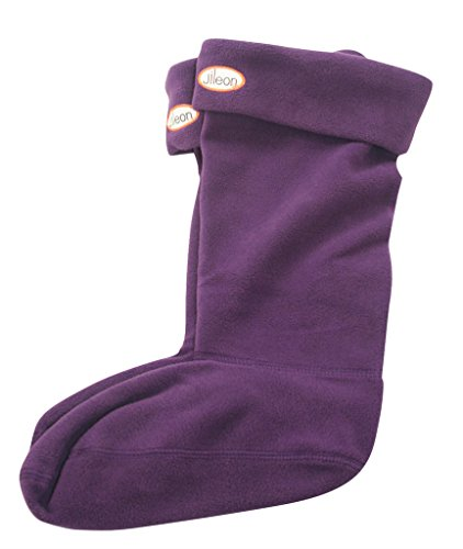 Welly Socks for Women in Warm Fleece - 6 Colour Options