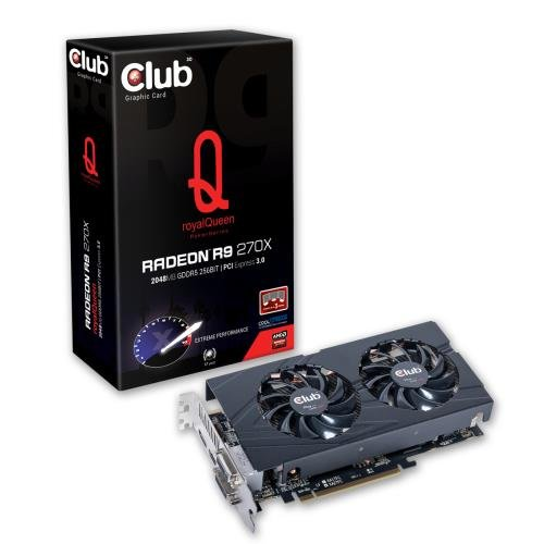 CLUB3D Radeon R9 270X AMD 2 GB royalQueen - bulk