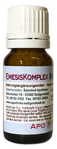 EmesisKomplex Bioenerg Globuli mit Zink - 10 g - Erbrechen - aus deutscher Traditionsapotheke