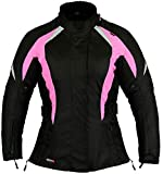 Best veste de moto - Veste Imperméable moto dames Manteau Protection Rose choquant Review