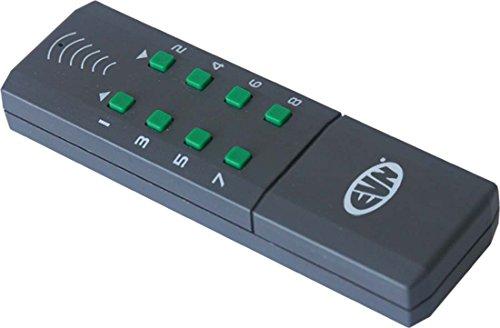 EVN Lichttechnik Funk-Handsender FHS 815 8 Kanäle Sender/Fernbedienung für Installationsschalterprogramme 4037293361651