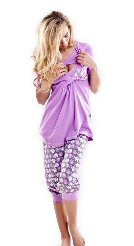 dn-nightwear -  Set Coordinato  - Donna Orchidea