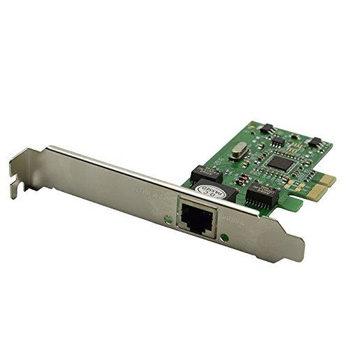 Goliton® 1 Port 2,5 Gb / s Gigabit Ethernet RJ-45 RJ45 Netzwerk LAN Karte PCI-E Express 10/100 / 1000M Desktop Controller Adapter Verbindungsstück - Grün