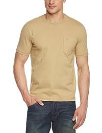 Dockers - Camiseta slim fit con cuello redondo de manga corta para hombre, talla