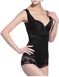 c625918372 Shymay Women s Firm Control Shapewear Waist Shaper Tummy Slimmer Bodysuits