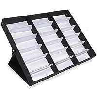 Paide Organizador expositor de gafas y joyas - 2 tamaños disponibles - Mantenga sus gafas ordenadas (Para 18 gafas)