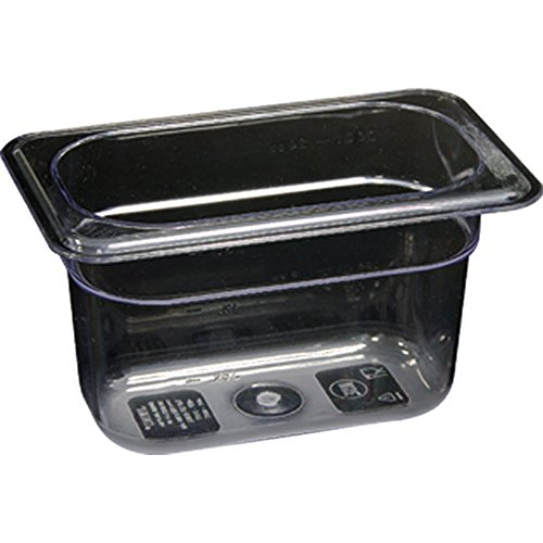 Stalgast Gastronormbehälter, Polycarbonat, GN 1/9 (65 mm) Quart Chafing Dish